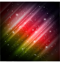 Space colorful background vector