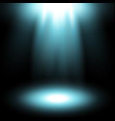 Spotlight aqua color vector