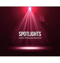 Spotlight effect scene background Background in vector