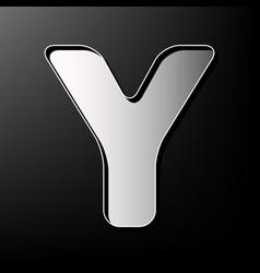 letter y sign design template element vector image