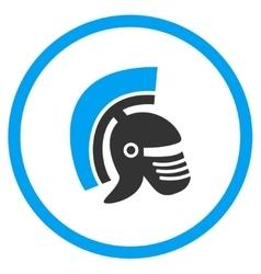 Rome Helmet Icon vector image vector image