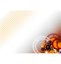 industrial wheel vector image vector image