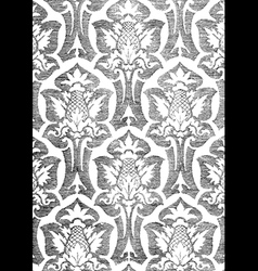11 Abstract hand-drawn floral seamless pattern vector image