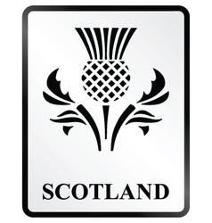 Scotland Sign vector image vector image