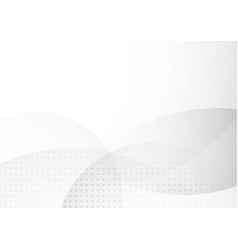 abstract white and gray circle overlapping with vector image