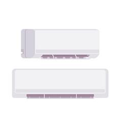 air conditioner set vector image