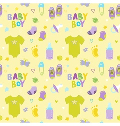 Baboy background - seamless pattern vector