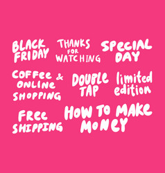 Black friday special day make money free vector
