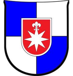 Coat of arms of norderstedt in schleswig-holstein vector