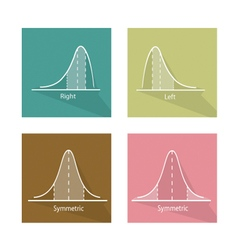 Collection of Positive and Negative Distribution vector