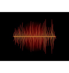 Hot melted waveform vector
