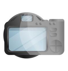 tft display camera icon cartoon style vector image