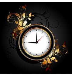 web icon clocks vector image vector image