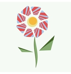 abstract flower fabulous cartoon vector image vector image