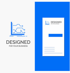 business logo for arrows forward graph market vector image