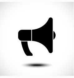 megaphones icon advertising icon vector image