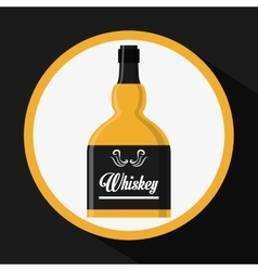 Whiskey concept design vector image