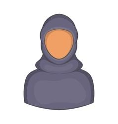 Woman Arab icon cartoon style vector image
