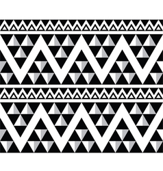 Tribal aztec abstract seamless pattern vector image vector image