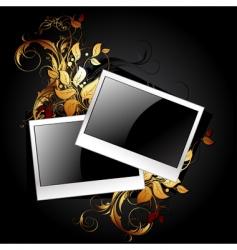 web icon photo frames vector image