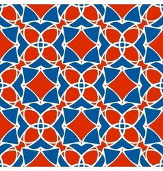 pattern of geometric shapes Mosaic vector image