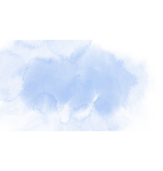 abstract blue sky watercolor for background vector image