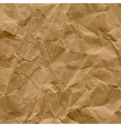 Craft Recycled Crumpled Paper Texture vector