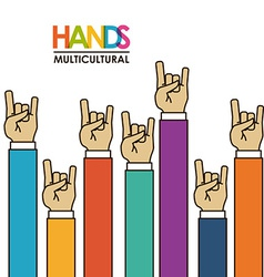 hands gesture vector image