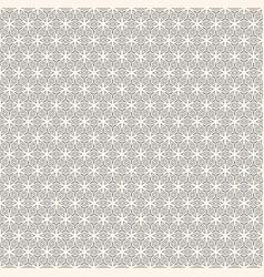 Monochrome geometric ornament seamless pattern vector