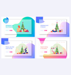 new year and christmas celebration at home and vector image