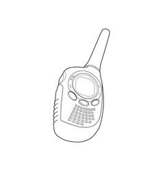 Radio Phone Walkie Talkie vector