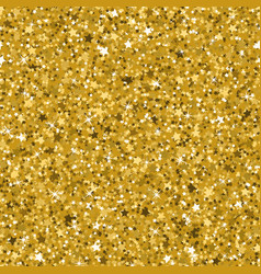 Seamless yellow gold glitter texture made with vector