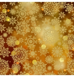 Snowflakes glitter pattern vector