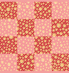 Striped seamless pattern background with vector