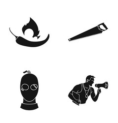 Training sport nature and other web icon in vector