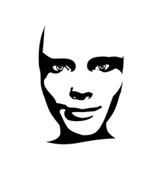 woman avatar expressions face emotions vector image