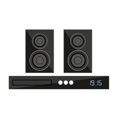 speaker home theater isolated icon vector image