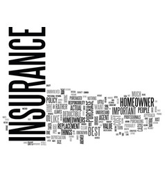 best home owners insurance what to look for when vector image