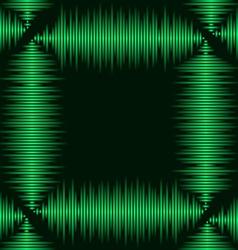 Waveform frame vector image vector image