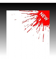 corner vector image vector image