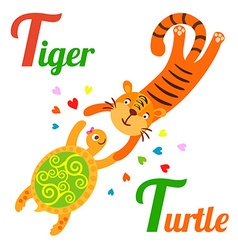 TigerL vector image