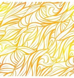 Seamless yellow pattern vector image