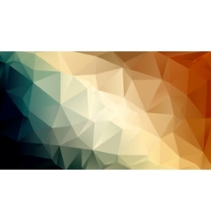 Abstract background in retro colors vector image