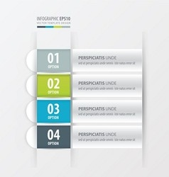 Banner layout design Green blue gray color vector