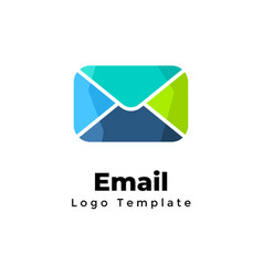 Creative email logo template marketing vector