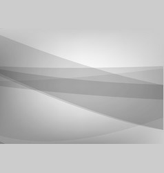 gray and white wave abstract background business vector image