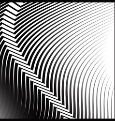 waing lines with crease vector image