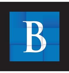 blue paper background vector image