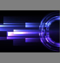 Circle digital abstract sheet layer background vector