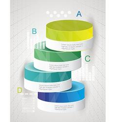 Infographic Elements IT Industry Design vector image vector image